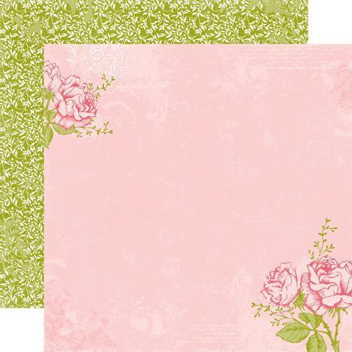 Scrapbooking  Echo Park Victoria Gardens Rose Paper Collections 12x12