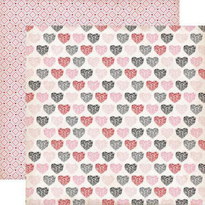 Scrapbooking  Echo Park Yours Truly Sweetheart Paper Collections 12x12