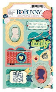 Scrapbooking  Family Is Dimensional Stickers Paper Collections 12x12