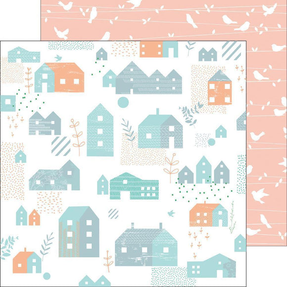 Scrapbooking  Felicity - Lovely Home Paper 12x12 Paper Collections 12x12