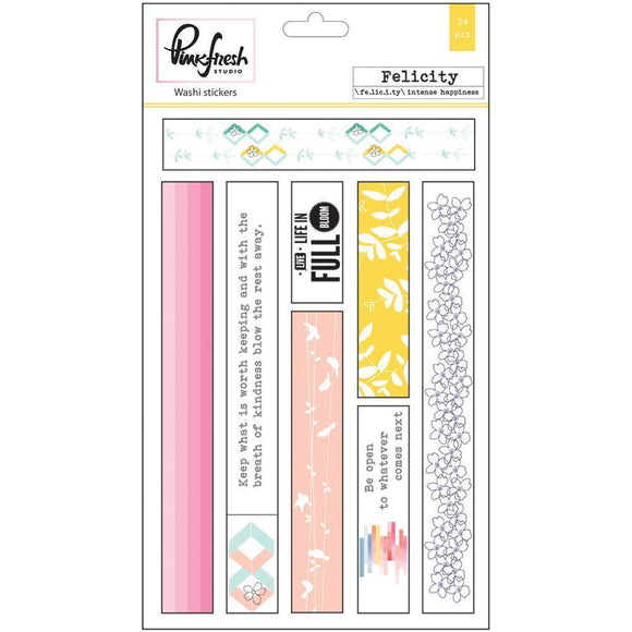 Scrapbooking  Felicity Washi Tape Stickers 4