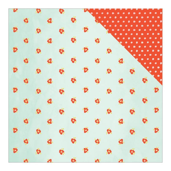 Scrapbooking  Fine and Dandy Elated Paper 12x12 Paper Collections 12x12