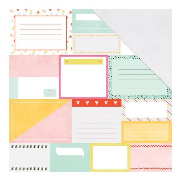 Scrapbooking  Fine and Dandy Pretty Packages Paper 12x12 Paper Collections 12x12