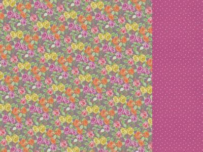 Scrapbooking  Flora Delight Enchanting Paper Collections 12x12