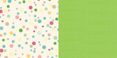 Scrapbooking  Girl Land Bubbly Paper Collections 12x12