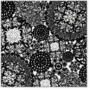 Scrapbooking  Hambly Screen Prints Doily Decor Black Paper Collections 12x12