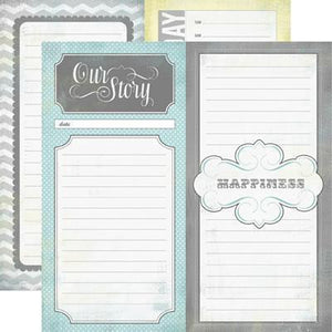 Scrapbooking  Happy Little Moments Our Story Paper Collections 12x12