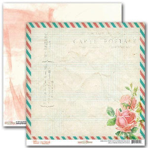 Scrapbooking  Hello Friend Envelope Paper Collections 12x12