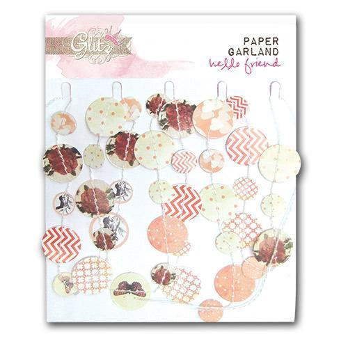 Scrapbooking  Hello Friend Paper Garland Paper Collections 12x12