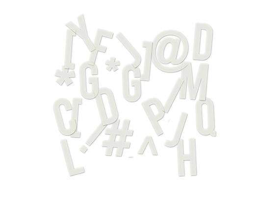 Scrapbooking  Hello Today Clear Pop Alphabet Cream Paper Collections 12x12