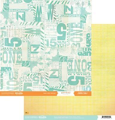 Scrapbooking  Hey Day Breezy Paper Collections 12x12