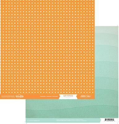 Scrapbooking  Hey Day Tangerines Paper Collections 12x12