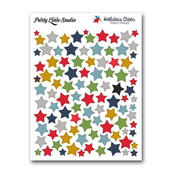 Scrapbooking  Holiday Cheer Starlight Stars Paper Collections 12x12