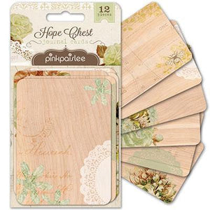Scrapbooking  Hope Chest 3x4 Journal Cards Paper Collections 12x12