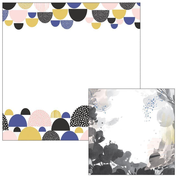 Scrapbooking  Indigo Hills Knoll Paper 12x12 Paper Collections 12x12