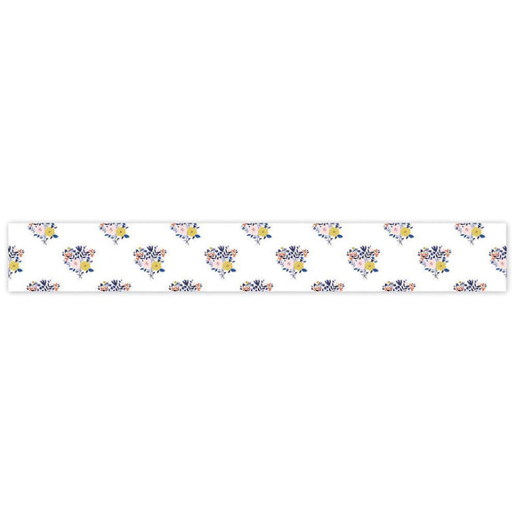 Scrapbooking  Indigo Hills Washi Tape 3mmx10m Roll Floral Paper Collections 12x12