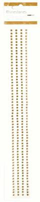 Scrapbooking  Kaisercraft Antique Gold Rhinestone Strip Paper Collections 12x12