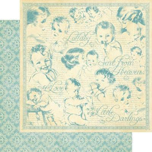 Scrapbooking  Little Darlings Lullaby Paper Collections 12x12