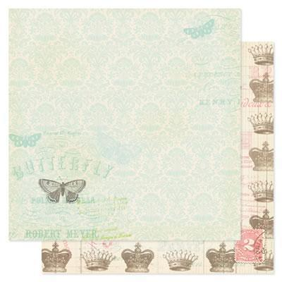 Scrapbooking  London Market Royal Charm Paper Collections 12x12