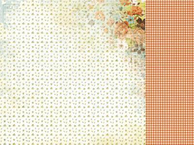 Scrapbooking  Marigold Citron Paper Collections 12x12