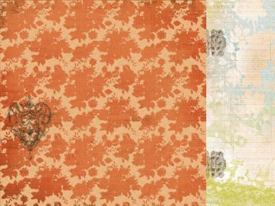 Scrapbooking  Marigold Spice Paper Collections 12x12