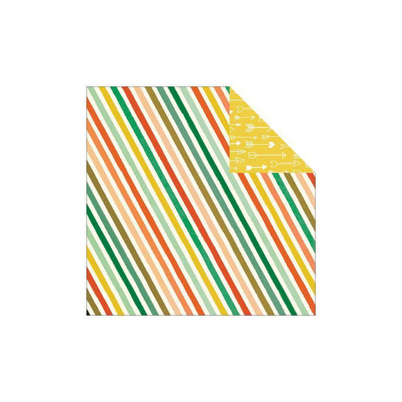 Scrapbooking  Market Street Nob Hill Stripes Paper Paper Collections 12x12