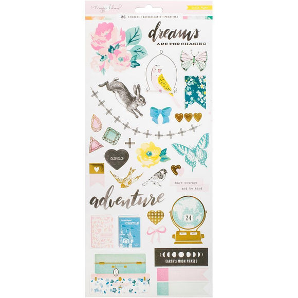 Scrapbooking  MH Chasing Dreams Stickers 6