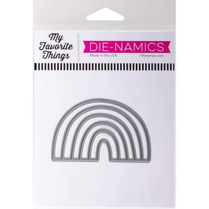 Scrapbooking  My Favorite Things Die-namics Die Rainbow Whimsy Paper Collections 12x12