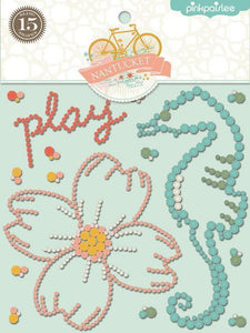 Scrapbooking  Nantucket Bling Stickers Paper Collections 12x12