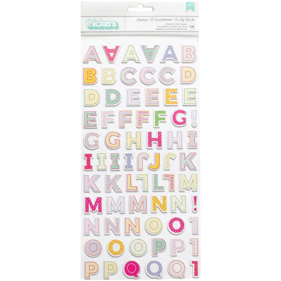 Scrapbooking  Paige Evans Oh My Heart Thickers Stickers 5.5