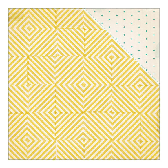 Scrapbooking  Poolside Sunshine Paper 12x12 Paper Collections 12x12