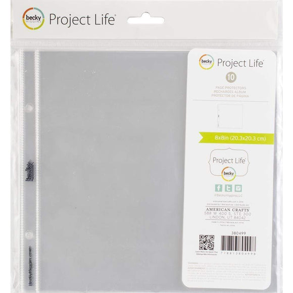 Scrapbooking  Project Life Page Protectors 8