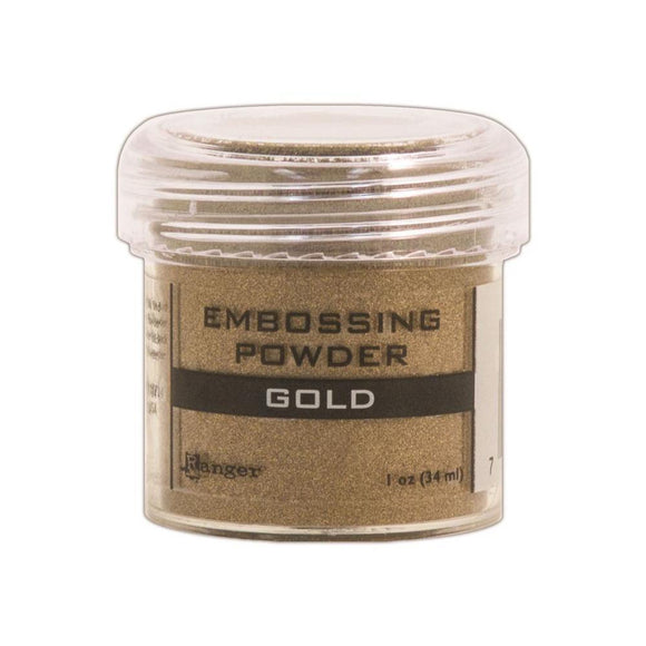Scrapbooking  Ranger Gold Embossing Powder 56oz Paper Collections 12x12