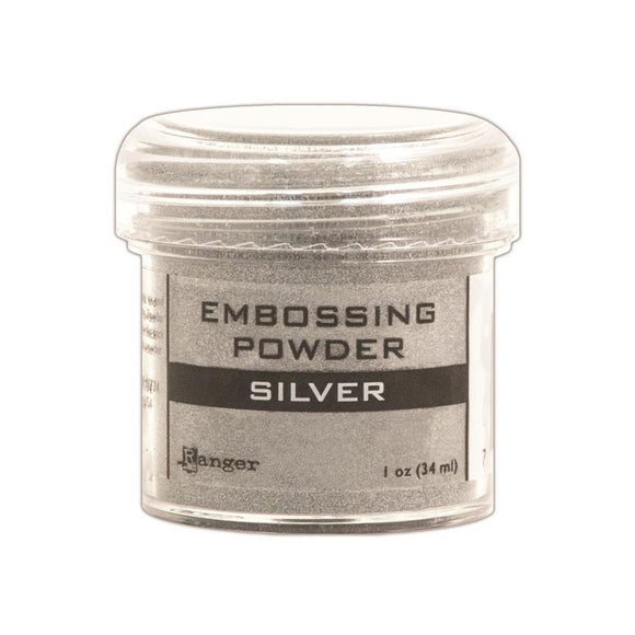 Scrapbooking  Ranger Silver Embossing Powder 56oz Paper Collections 12x12
