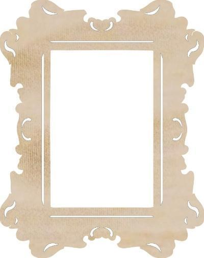 Scrapbooking  Rectangle Ornate Frame Flourish Paper Collections 12x12