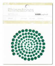 Scrapbooking  Rhinestones Dark Green Paper Collections 12x12