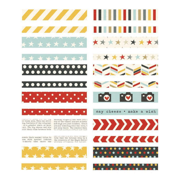 Scrapbooking  Say Cheese Washi Paper Tape Paper Collections 12x12