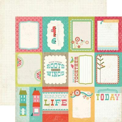 Scrapbooking  So Happy Together Jot It Down Paper Collections 12x12