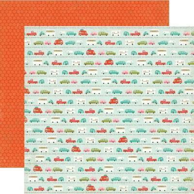 Scrapbooking  So Happy Together Road Trip Paper Collections 12x12