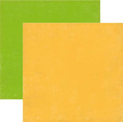 Scrapbooking  So Happy Together Yellow and Green Solid Paper Collections 12x12