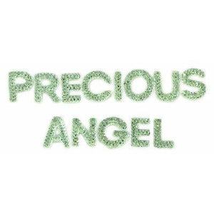 Scrapbooking  Sparklet Words Crystals Precious and Angel Paper Collections 12x12