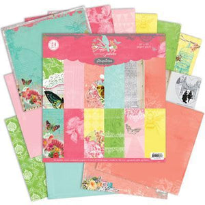 Scrapbooking  Spring Jubilee Collection Pack 12x12 Paper Collections 12x12