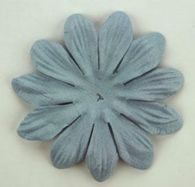 Scrapbooking  Tara Grey Blue 6cm Flowers Paper Collections 12x12