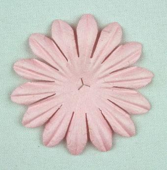 Scrapbooking  Tara Pale Pink 5cm Flowers Paper Collections 12x12