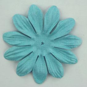 Scrapbooking  Tara Sky Blue 6cm Flowers Paper Collections 12x12