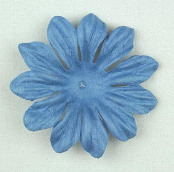 Scrapbooking  Tara Wedgewood Blue 6cm Flowers Paper Collections 12x12