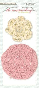 Scrapbooking  The Sweetest Thing Lavender The Best Crocheted Doilies Paper Collections 12x12