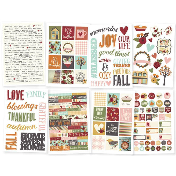 Scrapbooking  Vintage Blessings Stickers 4