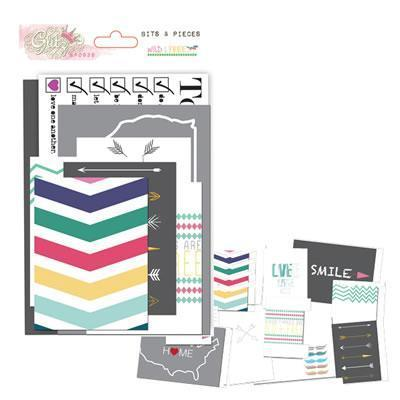 Scrapbooking  Wild and Free Bits and Pieces Paper Collections 12x12