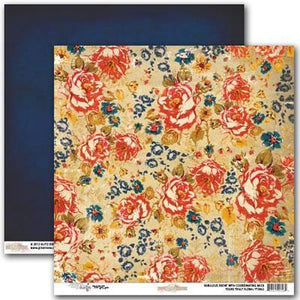 Scrapbooking  Yours Truly Floral Paper Collections 12x12